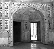 Imperial Enclosure Red Fort - New Delhi - India by aidan  moran