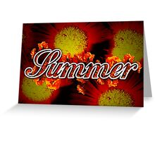 Summer - 4 Seasons Print Range Greeting Card
