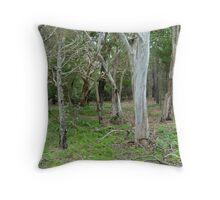Native Australian Bushland  Throw Pillow