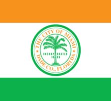 City of Miami Flag Sticker