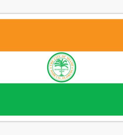 City of Miami Flag Sticker