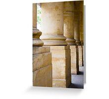 Columns - Art Gallery of South Australia Greeting Card
