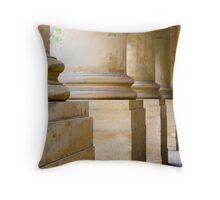 Columns - Art Gallery of South Australia Throw Pillow