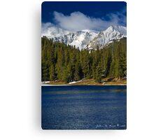 Morning Along Echo Lake Canvas Print