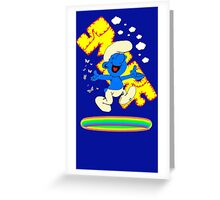 Smurf Tastic Greeting Card
