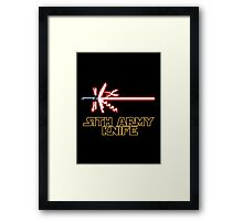 Sith Army Knife Framed Print