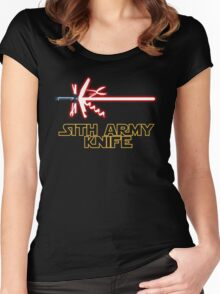 Sith Army Knife Women's Fitted Scoop T-Shirt