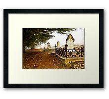 Graven Mist Framed Print