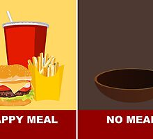 happy meal? by PixelProtest
