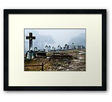 Beyond the Cross Framed Print