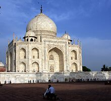 Taj Mahal Love by aidan  moran