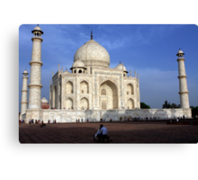 Taj Mahal Love Canvas Print
