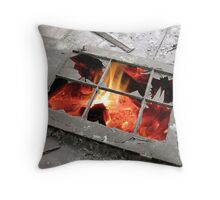 Hell's Only Window Throw Pillow