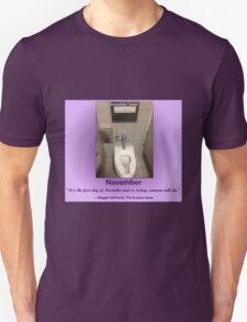 Toilets of New York 2015 November - Rockefeller Centre Unisex T-Shirt