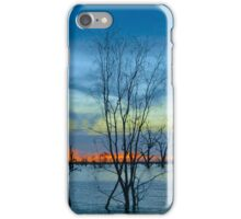 Sunset's End at Menindee iPhone Case/Skin