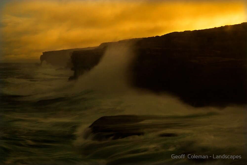 The Yearning by Geoff  Coleman - Landscapes