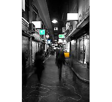 Degraves St Bustle Photographic Print