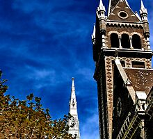 Two Steeples by FuriousEnnui