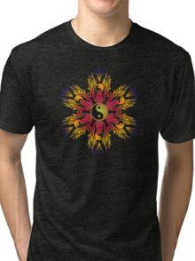 yingyang circle Tri-blend T-Shirt