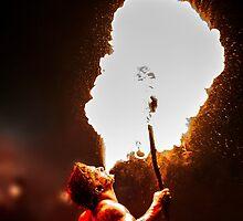 Krampus Fire Breather 3 by focusonphotos