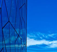 Blue Federation Square Glass by FuriousEnnui