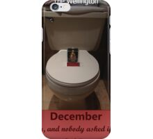 Toilets of New York 2015 December - The Wellington iPhone Case/Skin