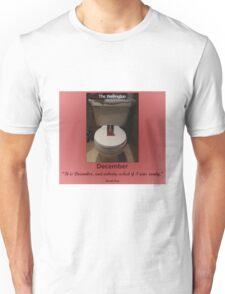 Toilets of New York 2015 December - The Wellington Unisex T-Shirt