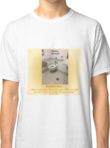 Toilets of New York 2015 September - Mystery Classic T-Shirt
