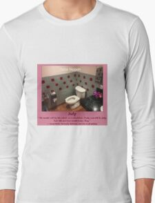 Toilets of New York 2015 July - Soba Nippon Long Sleeve T-Shirt