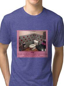 Toilets of New York 2015 July - Soba Nippon Tri-blend T-Shirt