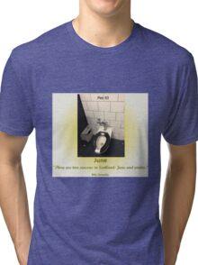 Toilets of New York 2015 June - Pier 83 Tri-blend T-Shirt