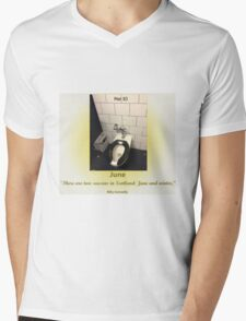 Toilets of New York 2015 June - Pier 83 Mens V-Neck T-Shirt