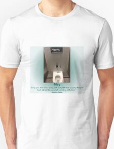 Toilets of New York 2015 May - Macy's Unisex T-Shirt