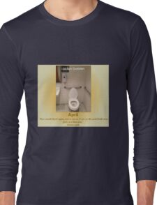 Toilets of New York 2015 April - Le Pain Quotedien Long Sleeve T-Shirt