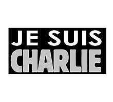 JE SUIS CHARLIE by mrbiscuit