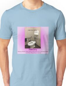 Toilets of New York 2015 February - Empire State Building  Unisex T-Shirt