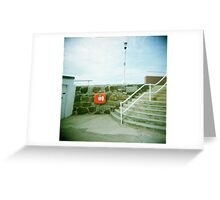 Holga 01 Greeting Card