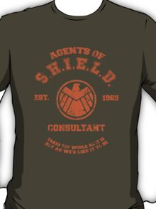 Agents of S.H.I.E.L.D. Consultant T-Shirt