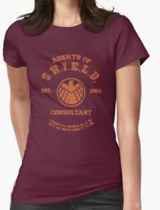 Agents of S.H.I.E.L.D. Consultant Womens Fitted T-Shirt