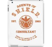 Agents of S.H.I.E.L.D. Consultant iPad Case/Skin