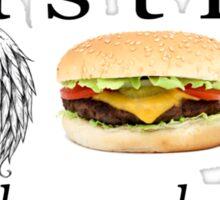 castiel - hey, assbutt Sticker
