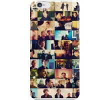sherlock bbc caps iPhone Case/Skin