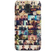sherlock bbc caps Samsung Galaxy Case/Skin