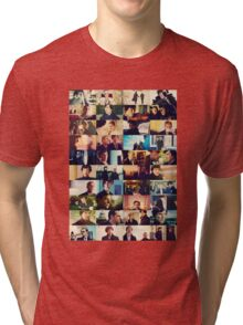sherlock bbc caps Tri-blend T-Shirt