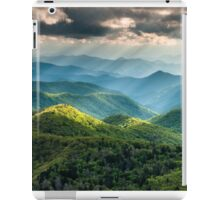 Western North Carolina Southern Appalachian Mountains Scenic iPad Case/Skin