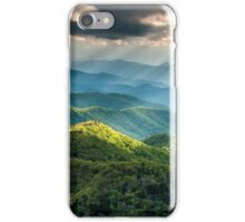 Western North Carolina Southern Appalachian Mountains Scenic iPhone Case/Skin