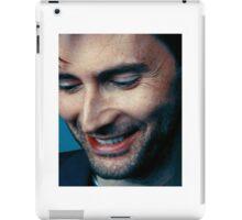 smiling tennant ヾ(。◕ฺ∀◕ฺ)ノ iPad Case/Skin