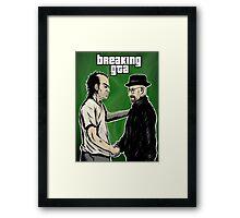 Breaking GTA Framed Print
