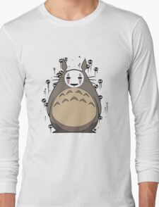 Totoro No Face Long Sleeve T-Shirt
