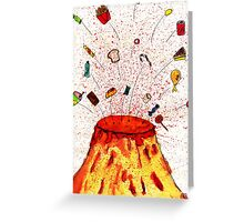 Desserts Erupt~~ Greeting Card